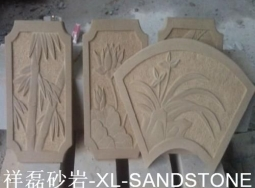 米黄砂雕刻产品