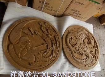 黄金砂雕刻